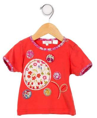 Liberty of London Designs Girls' Embroidered Top