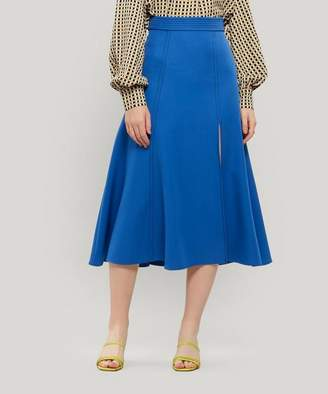 Stine Goya Jada Flare Printed Midi-Skirt