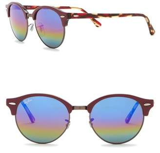 Ray-Ban 51mm Icons Clubround Phantos Sunglasses
