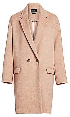Isabel Marant Women's Filipo Wool& Cashmere Coat