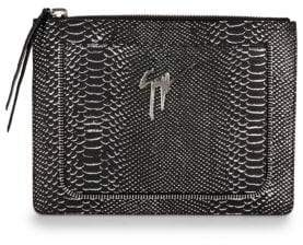 Giuseppe Zanotti Printed Leather Pouch