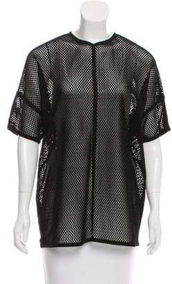 Gucci Leather Laser Cut Top
