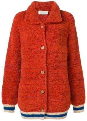 Chiara Bertani oversized knitted cardigan