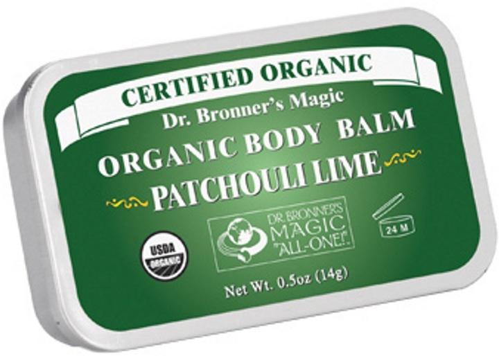 Dr. Bronner's Organic Patchouli Lime Body Balm by 0.5oz Balm)