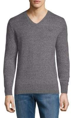 Superdry Heathered V-Neck Sweater