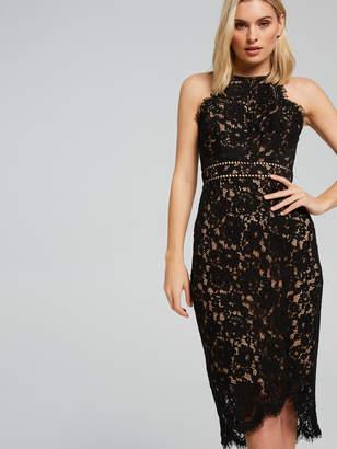 Portmans Australia Candice Halter Lace Dress