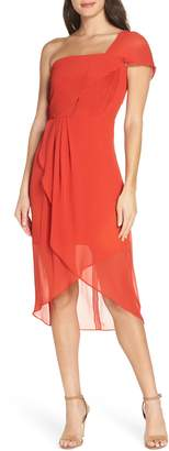 Cooper St Saffron One-Shoulder High/Low Dress