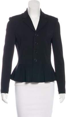 Polo Ralph Lauren Notch-Lapel Peplum Jacket