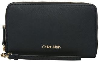 Calvin Klein H8Gq18Xf_Blk Zip Around Wallet