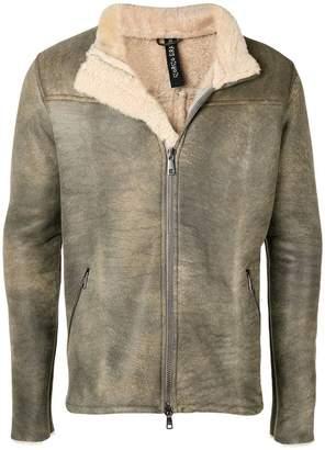 Giorgio Brato shearling leather jacket