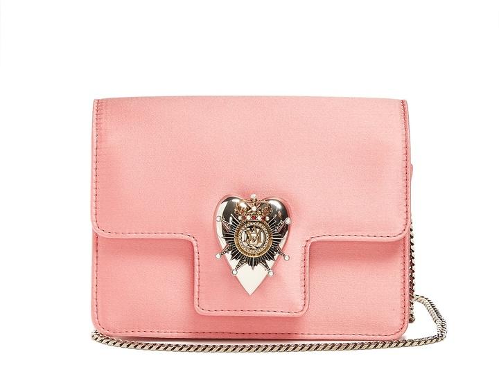 Alexander McQueenALEXANDER MCQUEEN Heart mini satin shoulder bag