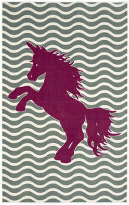Mohawk Home Majestic Unicorn Rectangular Rug