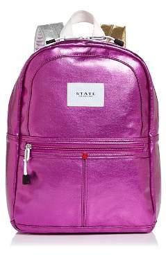 STATE Mini Kane Metallic Backpack