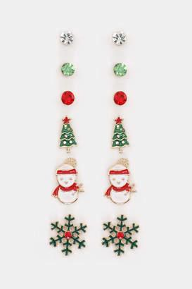 Ardene Pack of Festive Earrings