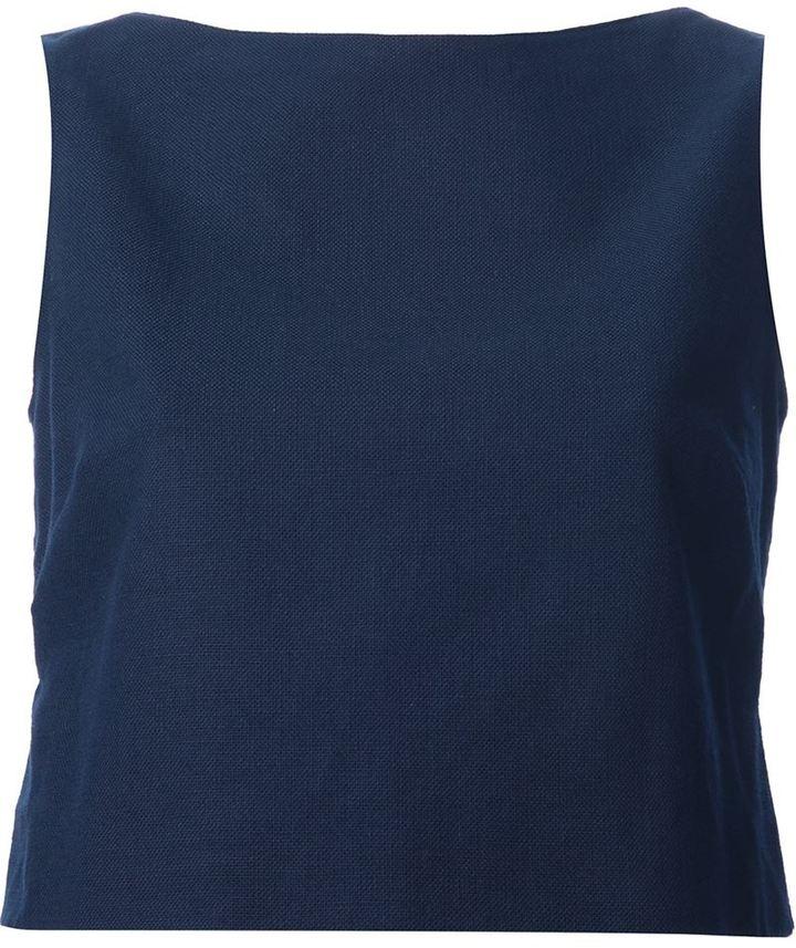 Valentino boat-neck top
