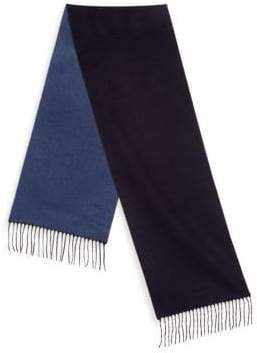 Saks Fifth Avenue COLLECTION Solid Double Faced Scarf