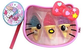 Hello Kitty Ice Cream Flavored Lip Balm Trio $4.89 thestylecure.com