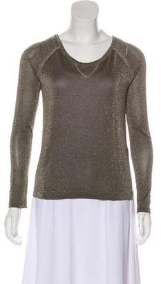 Rag & Bone Metallic Long Sleeve T-Shirt