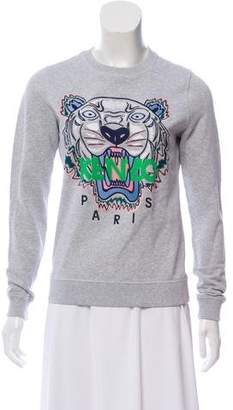 Kenzo Embroidered Knit Sweatshirt