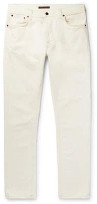 Nudie Jeans Lean Dean Slim-Fit Tapered Organic Stretch-Denim Jeans