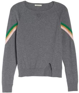 Rag Doll RAGDOLL Rainbow Stripe Sweatshirt