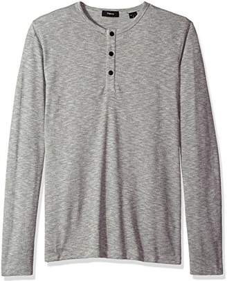Theory Men's Front Snap Henley