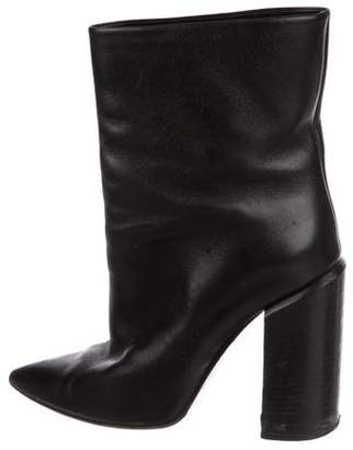 Walter Steiger Leather Pointed-Toe Booties