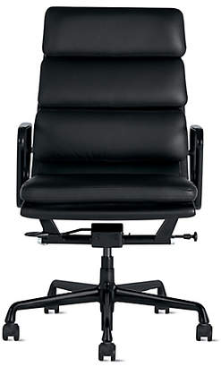 Design Within Reach Herman Miller Eames Soft Pad Executive Chair with Pneumatic Lift, Black at DWR