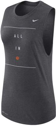 Nike Women's Clemson Tigers Dri-FIT Muscle Tank Top