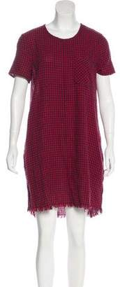 Current/Elliott Gingham Shift Dress