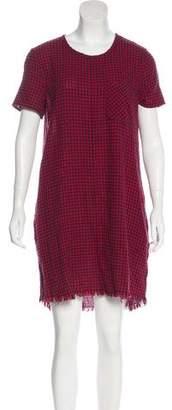 Current/Elliott Gingham Shift Dress