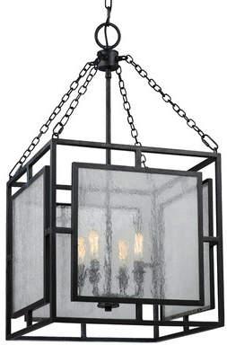 Hudson 17 Stories 4-Light Foyer Pendant