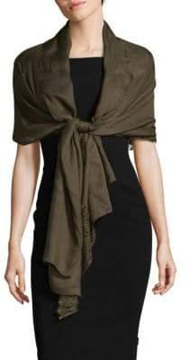 Valentino Scallop Lace Silk Stole
