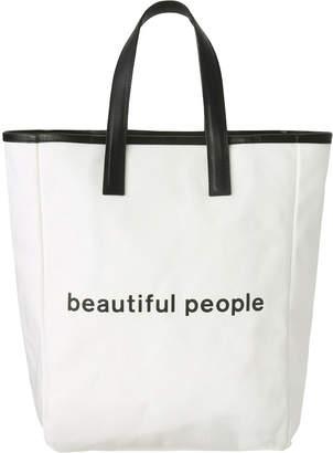 Beautiful People (ビューティフル ピープル) - ビューティフルピープル シェイプメモリーキャンバストートバッグ