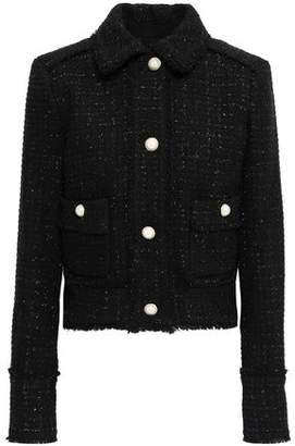 MICHAEL Michael Kors Metallic Wool-blend Tweed Jacket