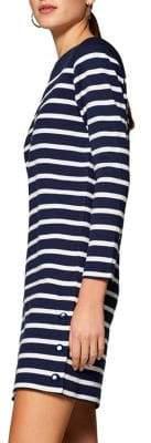 Esprit Striped Terry Dress