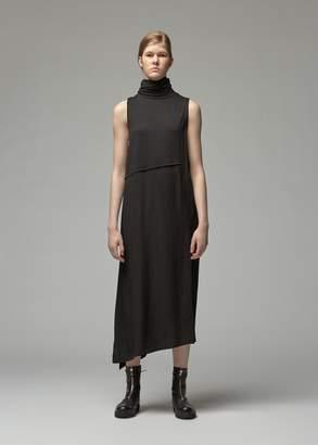 Yohji Yamamoto Y's By Sleeveless Turtleneck Dress