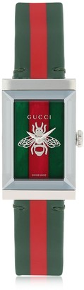 Gucci G-Frame Patent Leather Watch