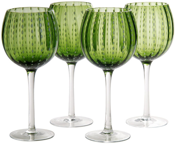 Artland ARTLAND Artland Cambria Set of 4 Wine Glass Goblets