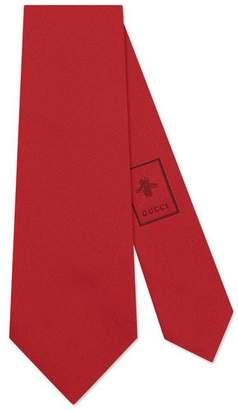 Gucci Snake underknot silk tie