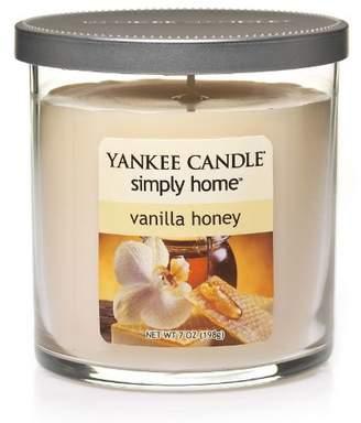 Yankee Candle simply home 7-oz.Vanilla HoneySoy Jar Candle