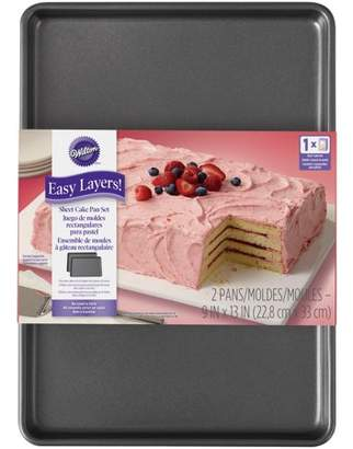 Wilton Easy Layers! Sheet Cake Pan Set, 2-Piece