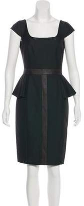Jay Godfrey Knee-Length Sheath Dress