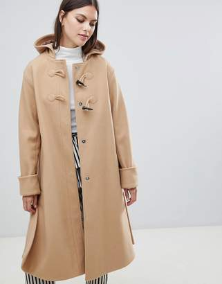 Asos Design DESIGN minimal duffle coat