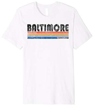 Vintage 1980s Style Baltimore MD T Shirt