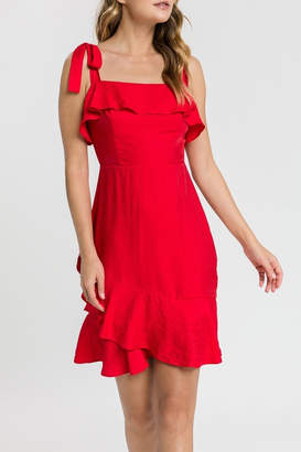 Endless Rose Red Tie Dress