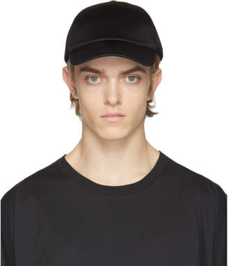 Y-3 Black Logo Badge Cap