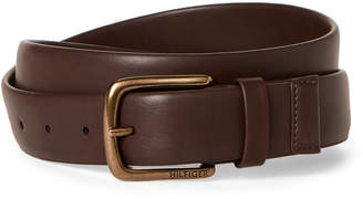 Tommy Hilfiger Faux Leather Stretch Tube Belt