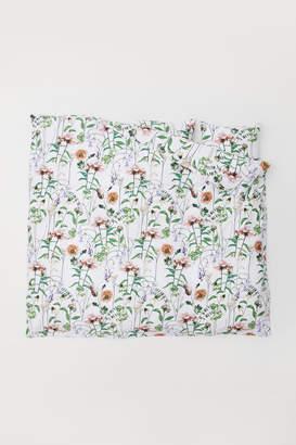 H&M Cotton Satin Duvet Cover Set