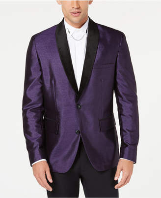 INC International Concepts I.n.c. Men's Broadway Slim-Fit Shawl Lapel Blazer